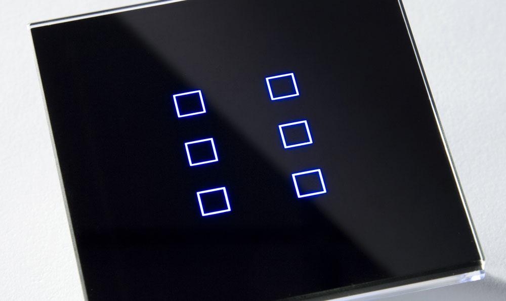 Enventive eglass tastiere per la domotica 01